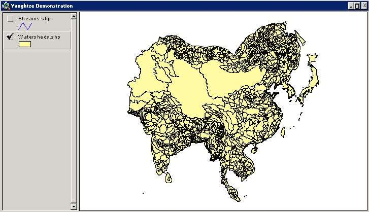 Watershed Topology - The Pfafstetter System