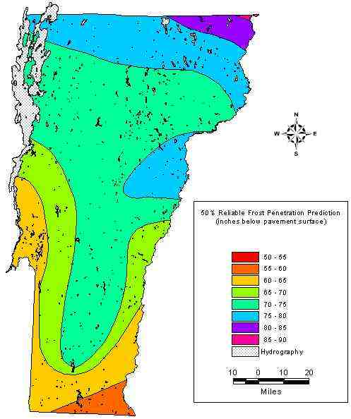 Agree, vermont frost depth penetration thanks. Completely share