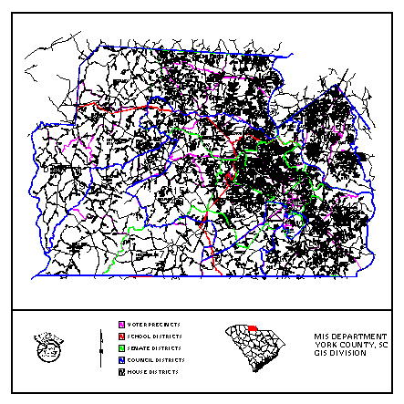 Applying GIS to resolve issues in County Government - York County, on york county jail inmates, york county sc, york county sheriff office, york county animal control, york county solid waste, york county sheriff department,