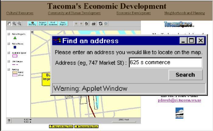 TacomaSpace.Com -- An Internet Economic Development Tool ...